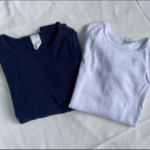 Crewcuts long sleeve tee bundle, size 8